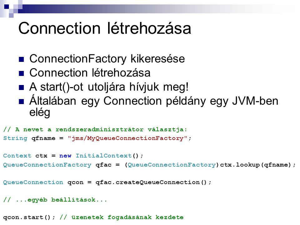 Connection létrehozása