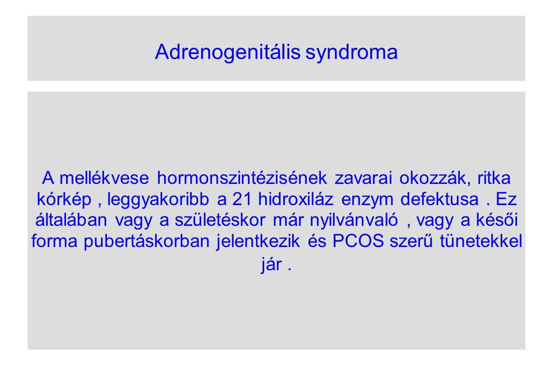 Adrenogenitális syndroma