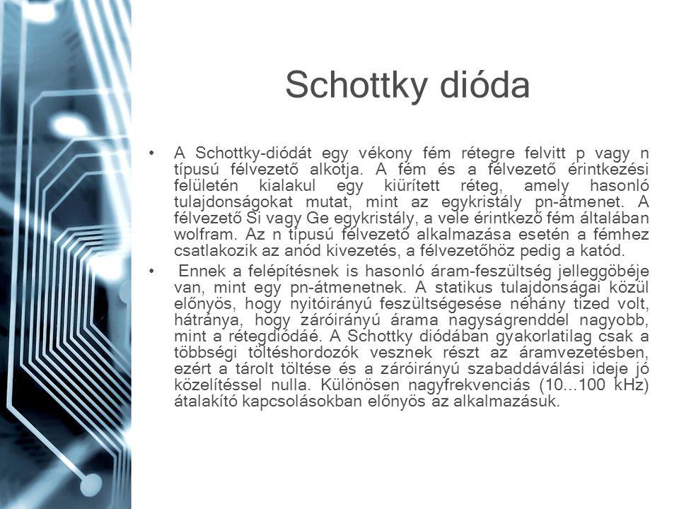 Schottky dióda
