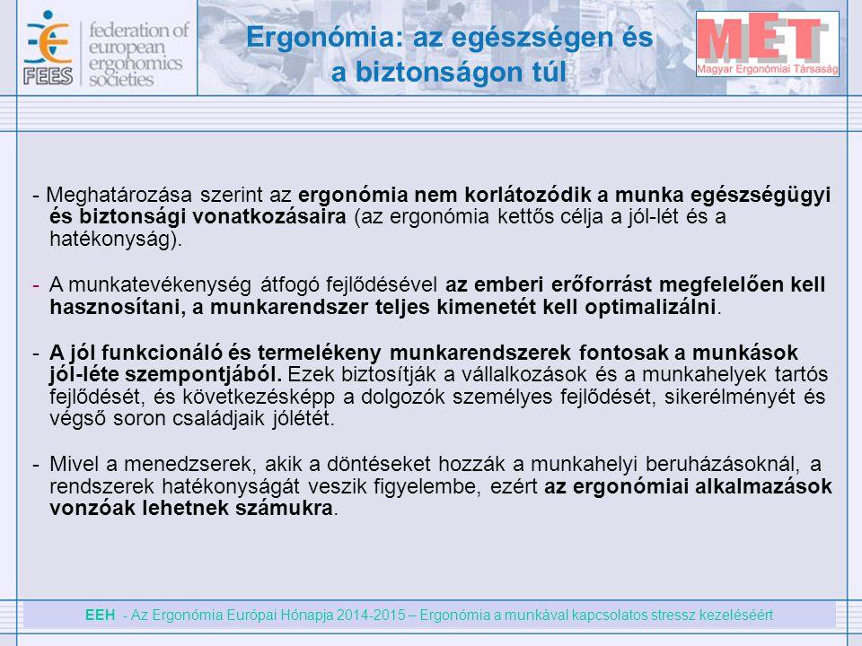 Ergonómia: az egészségen és a biztonságon túl