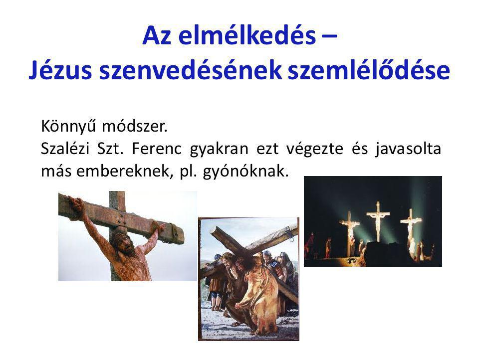 Jézus szenvedésének szemlélődése