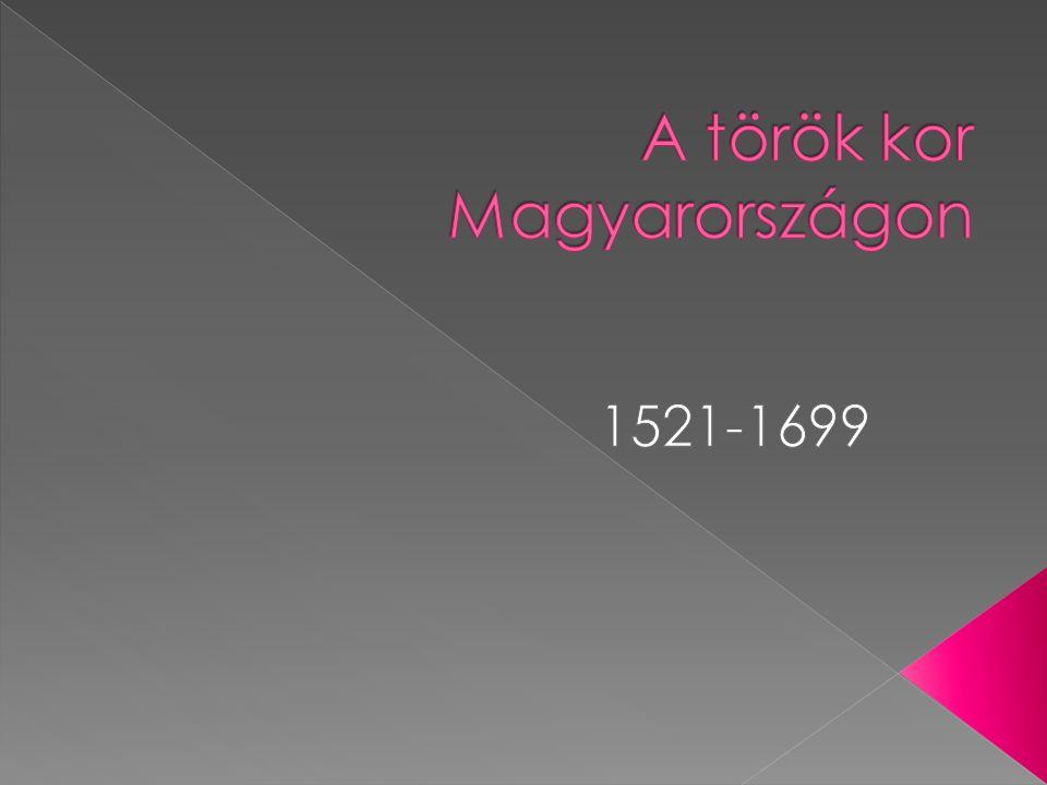 A török kor Magyarországon