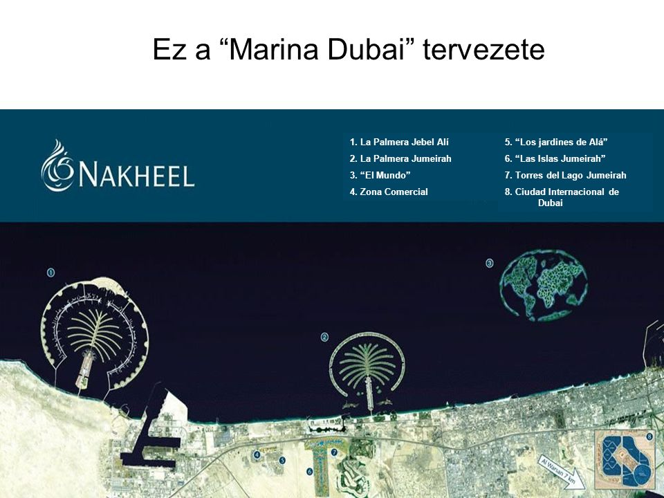 Ez a Marina Dubai tervezete