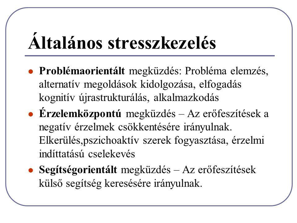 Általános stresszkezelés