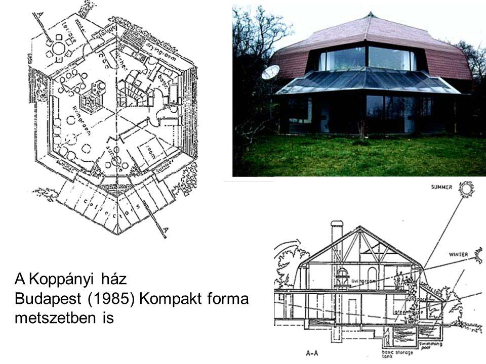 A Koppányi ház Budapest (1985) Kompakt forma metszetben is