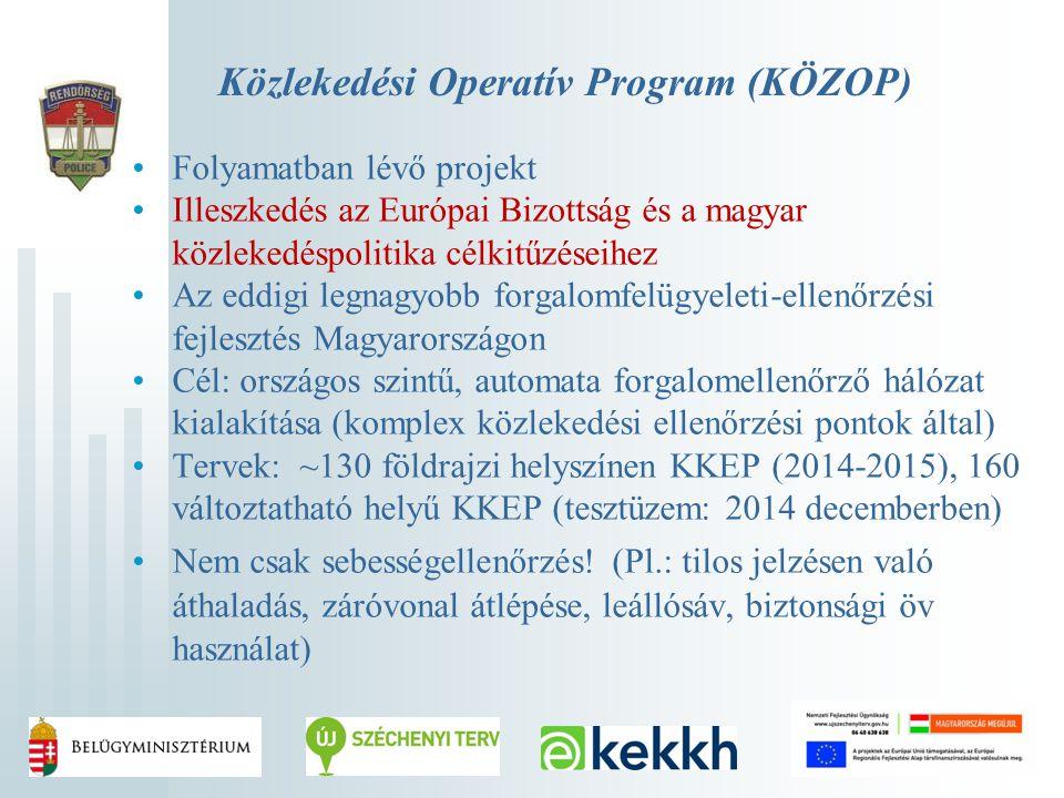 Közlekedési Operatív Program (KÖZOP)
