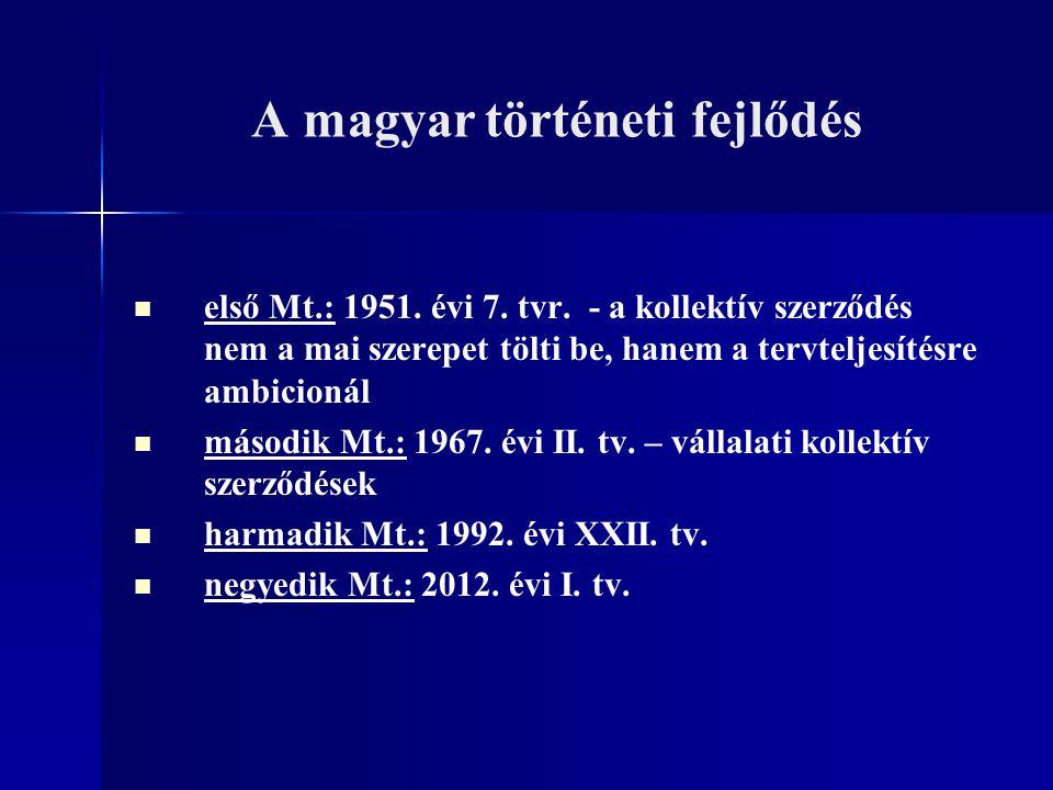 A magyar történeti fejlődés