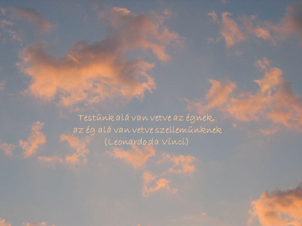 Testünk alá van vetve az égnek, az ég alá van vetve szellemünknek
