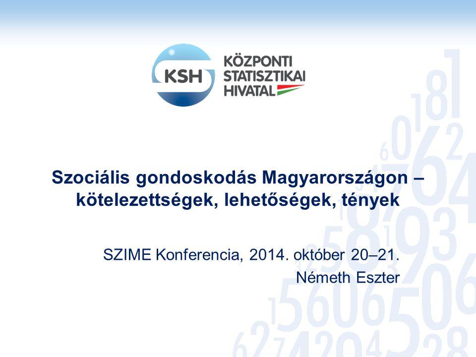 SZIME Konferencia, 2014. október 20–21. Németh Eszter