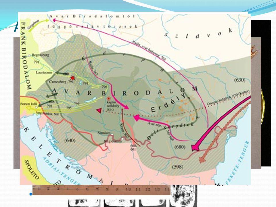 Az avarok eredetük bizonytalan (kaukázusi, közép-ázsiai)