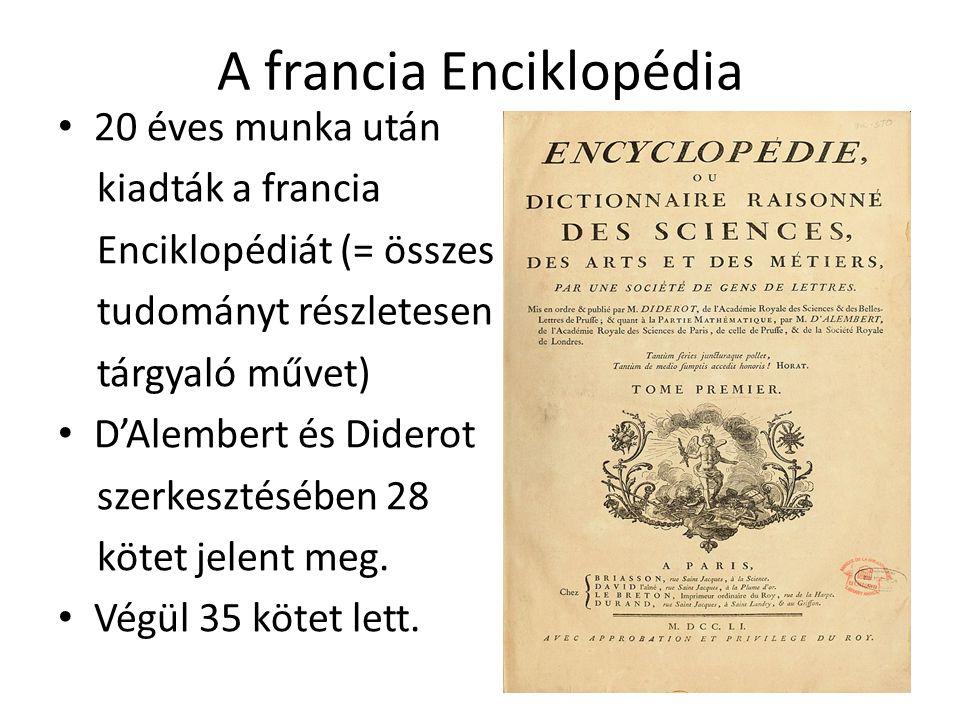 A francia Enciklopédia