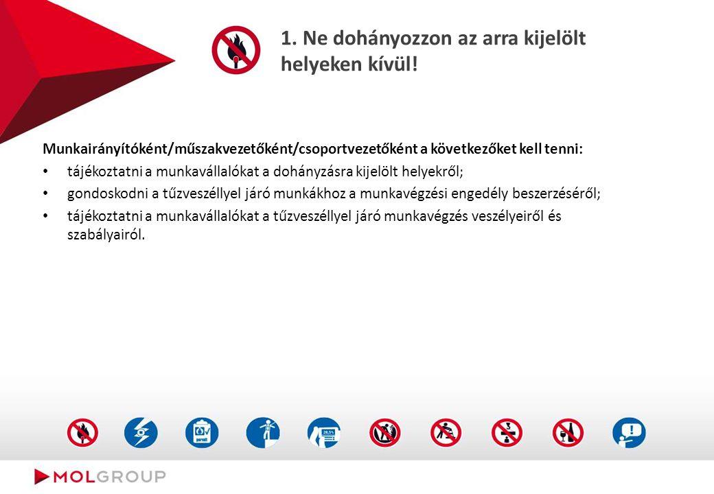 Mik a szabályok Ne dohányozzon az arra kijelölt helyeken kívül!
