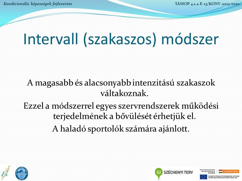 Intervall (szakaszos) módszer