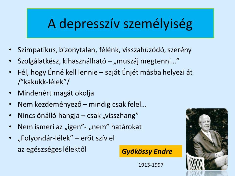 A depresszív személyiség