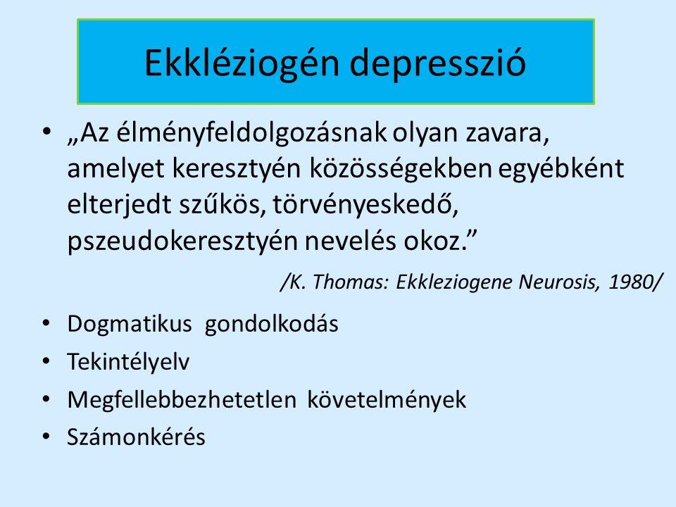 Ekkléziogén depresszió