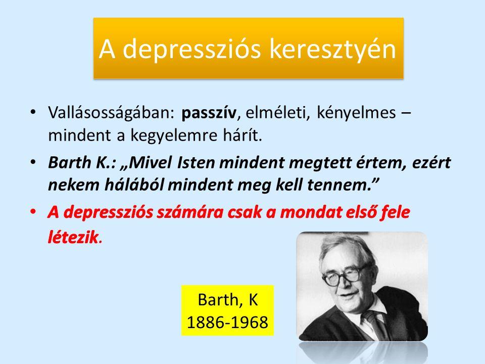 A depressziós keresztyén