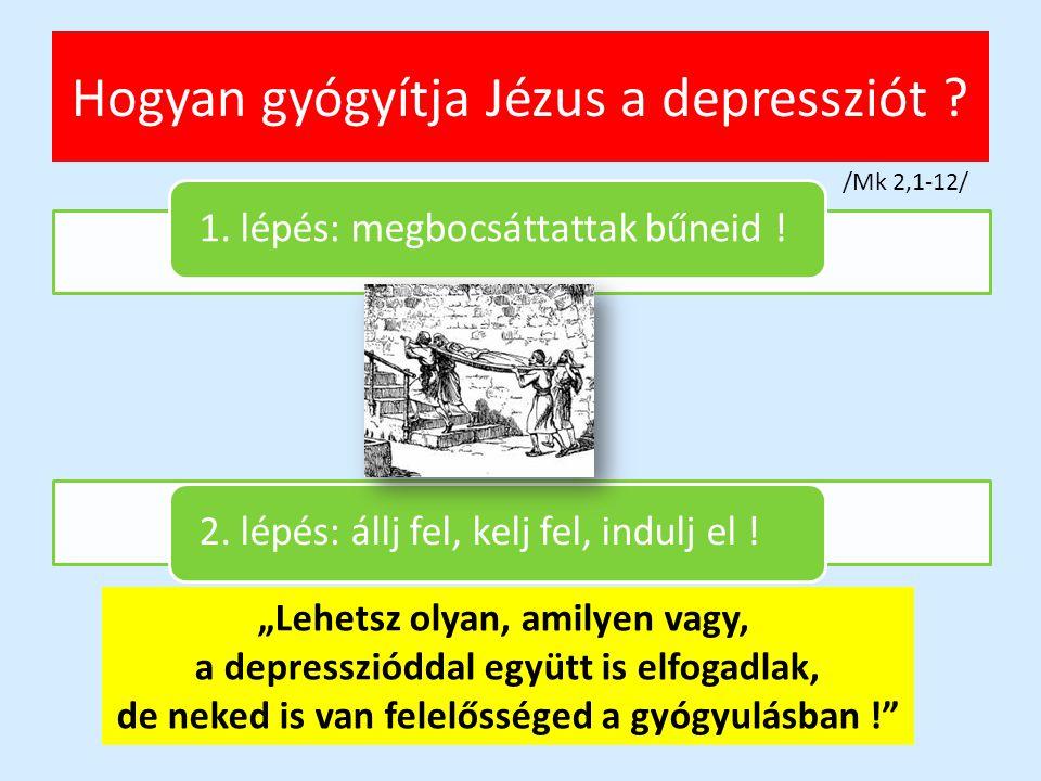 Hogyan gyógyítja Jézus a depressziót