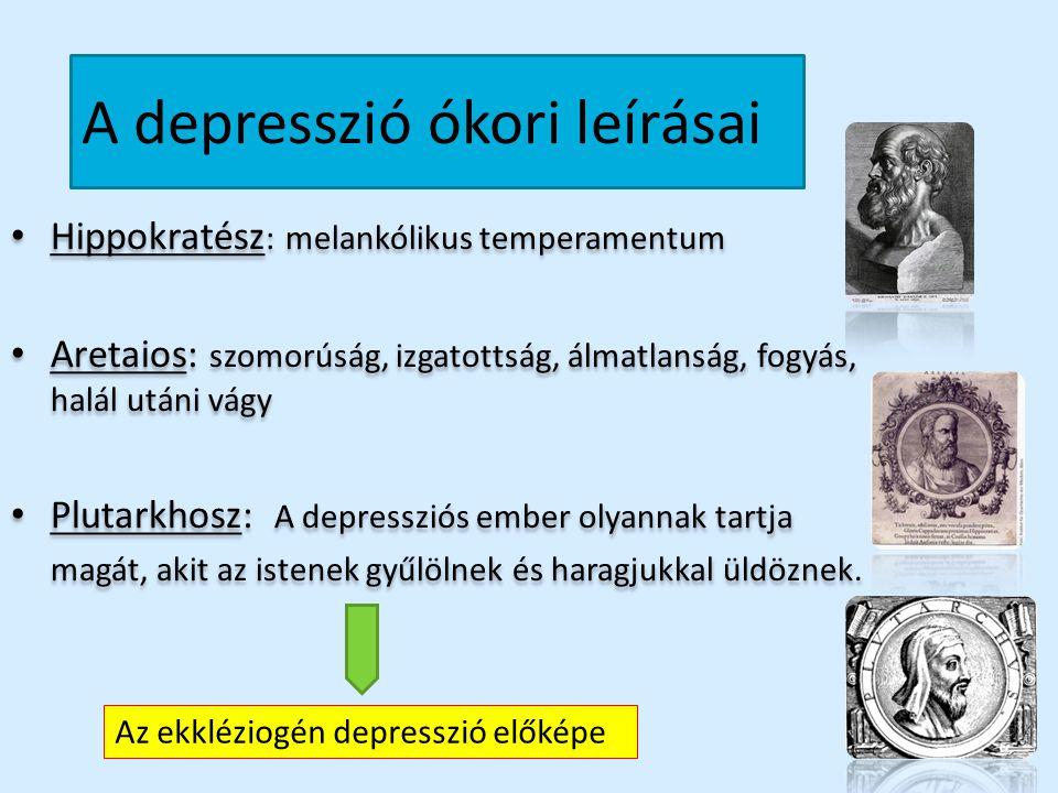 A depresszió ókori leírásai