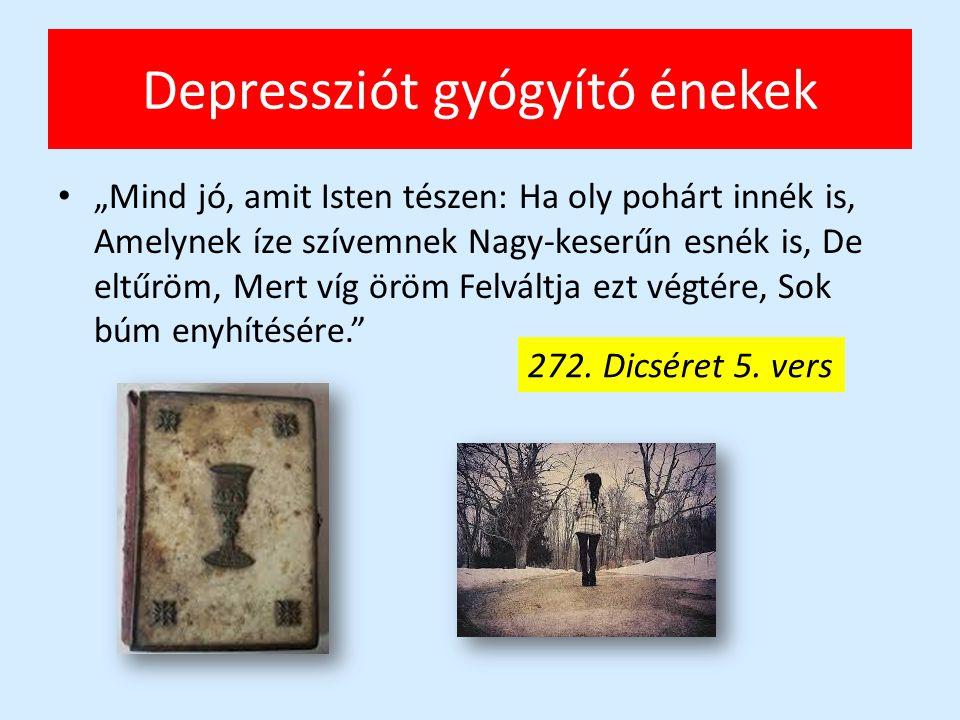 Depressziót gyógyító énekek