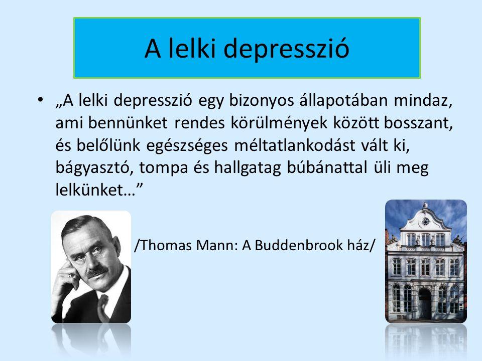 A lelki depresszió