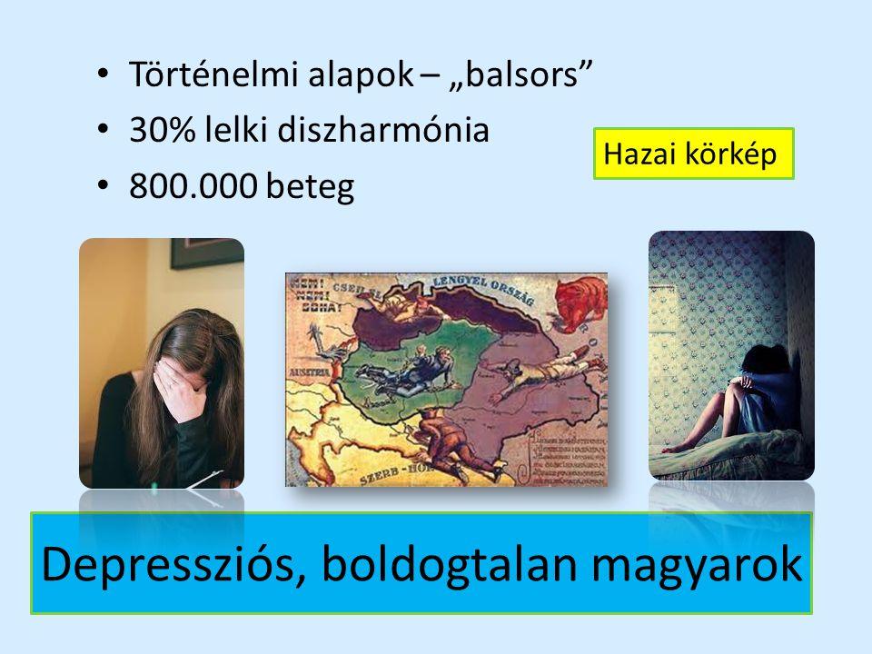 Depressziós, boldogtalan magyarok