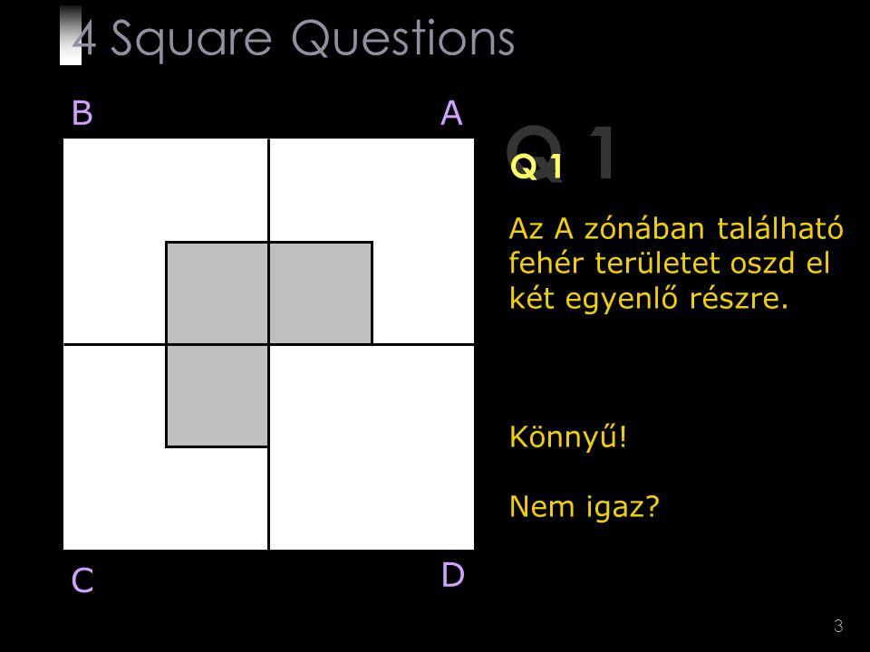 Q 1 4 Square Questions B A Q 1 D C