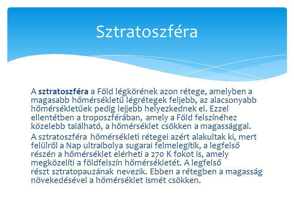 Sztratoszféra