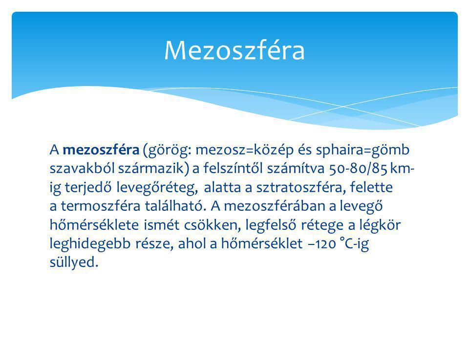 Mezoszféra
