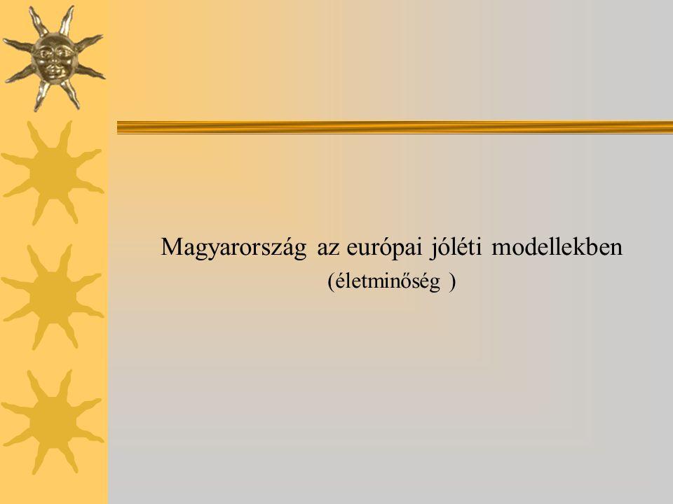 Magyarország az európai jóléti modellekben