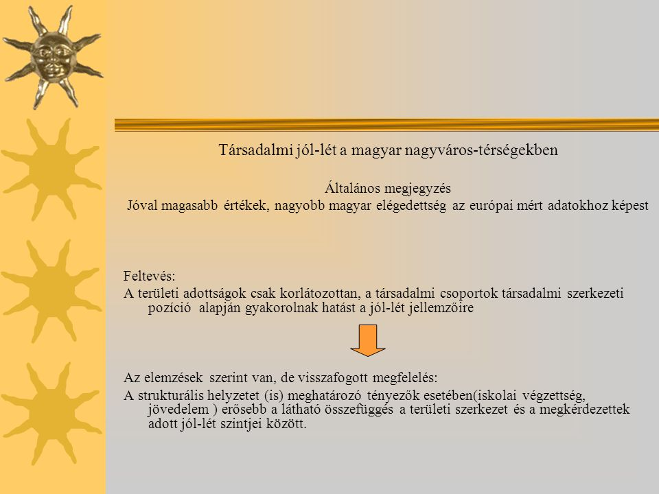 Társadalmi jól-lét a magyar nagyváros-térségekben
