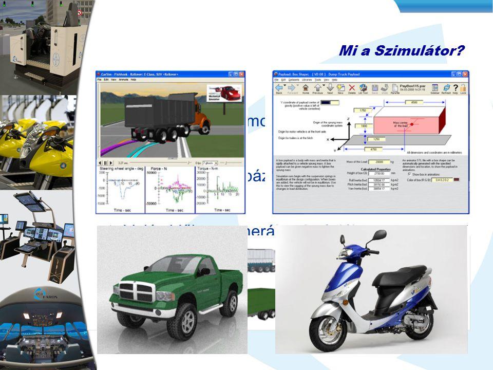 Gépjármű fizikai modellezése