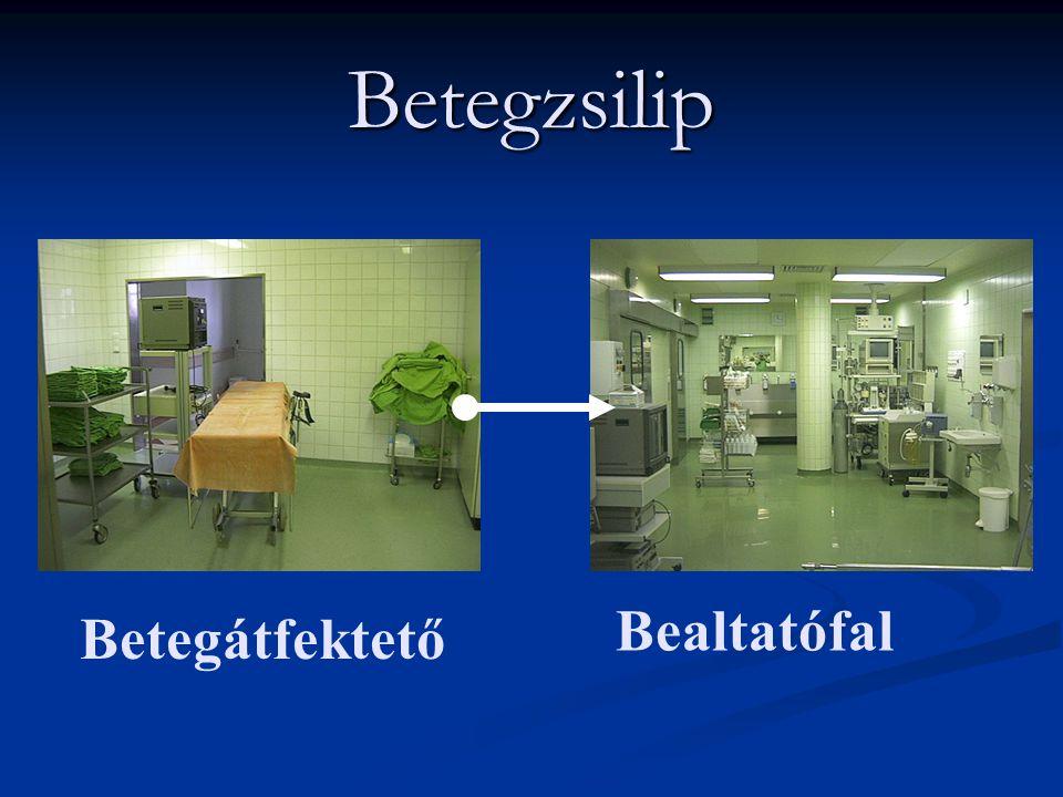 Betegzsilip Bealtatófal Betegátfektető