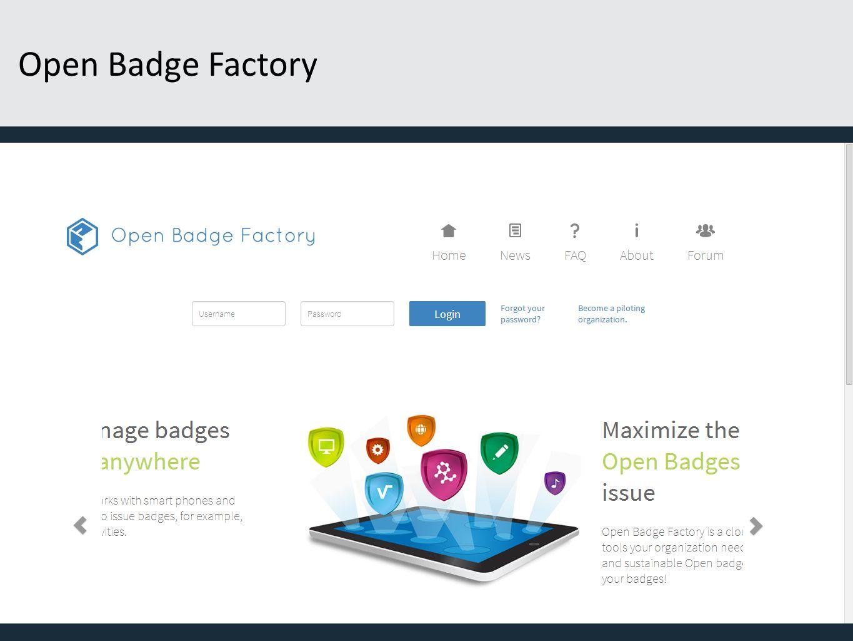 Open Badge Factory