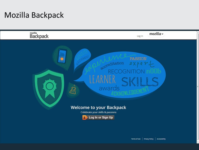 Mozilla Backpack