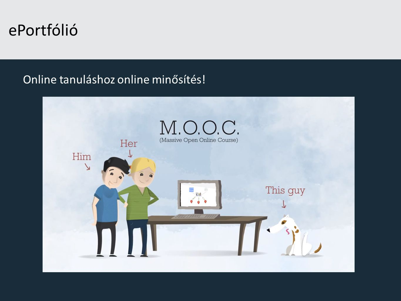 ePortfólió Online tanuláshoz online minősítés!