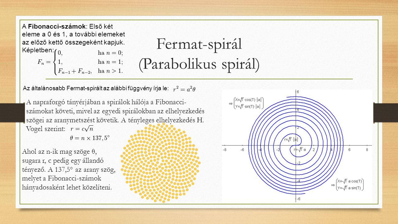 Fermat-spirál (Parabolikus spirál)