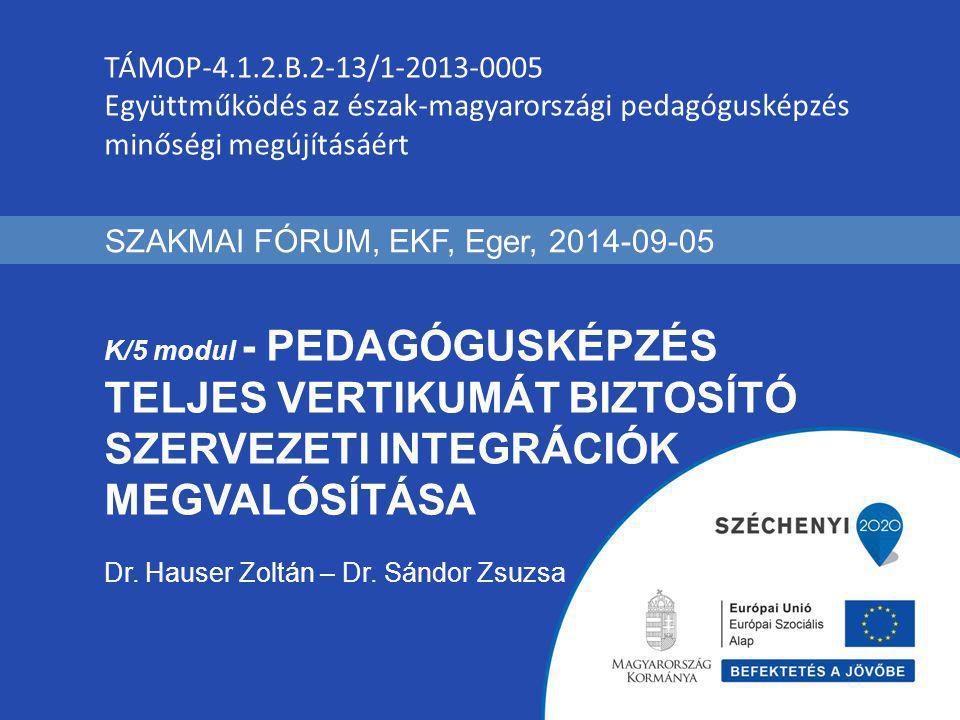 SZAKMAI FÓRUM, EKF, Eger, 2014-09-05