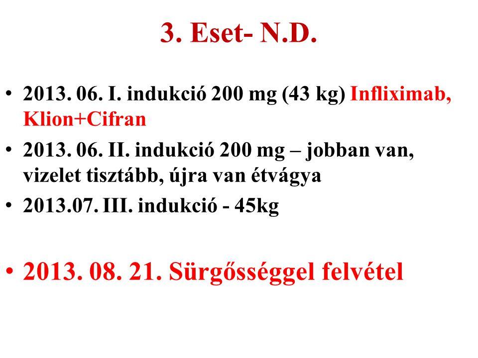 3. Eset- N.D. 2013. 08. 21. Sürgősséggel felvétel