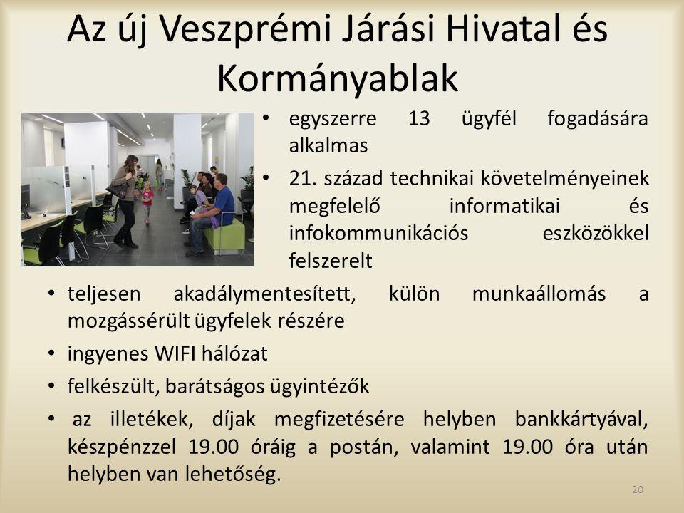 Az új Veszprémi Járási Hivatal és Kormányablak