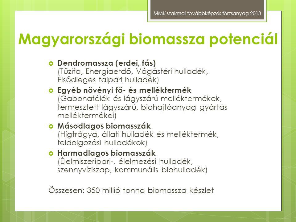 Magyarországi biomassza potenciál