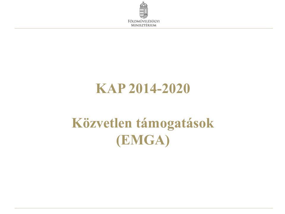 KAP 2014-2020 Közvetlen támogatások (EMGA)