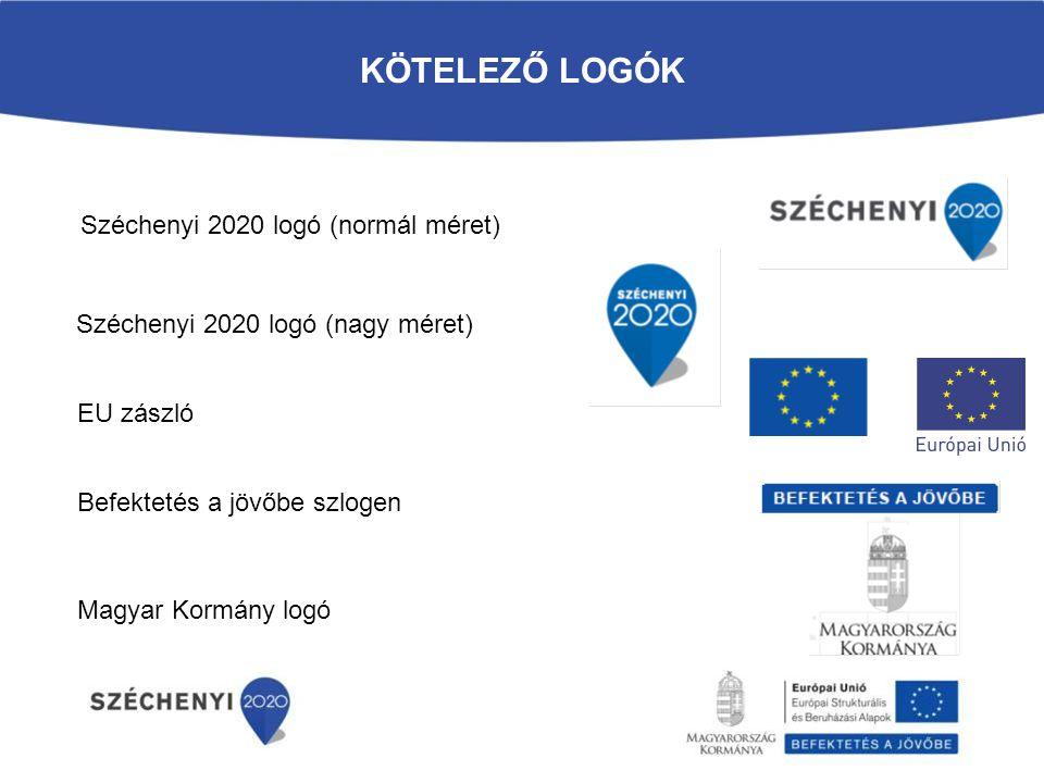 Kötelező logók Széchenyi 2020 logó (normál méret)