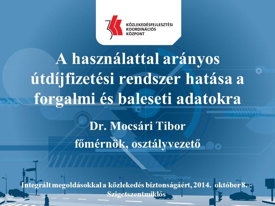 Dr. Mocsári Tibor főmérnök, osztályvezető