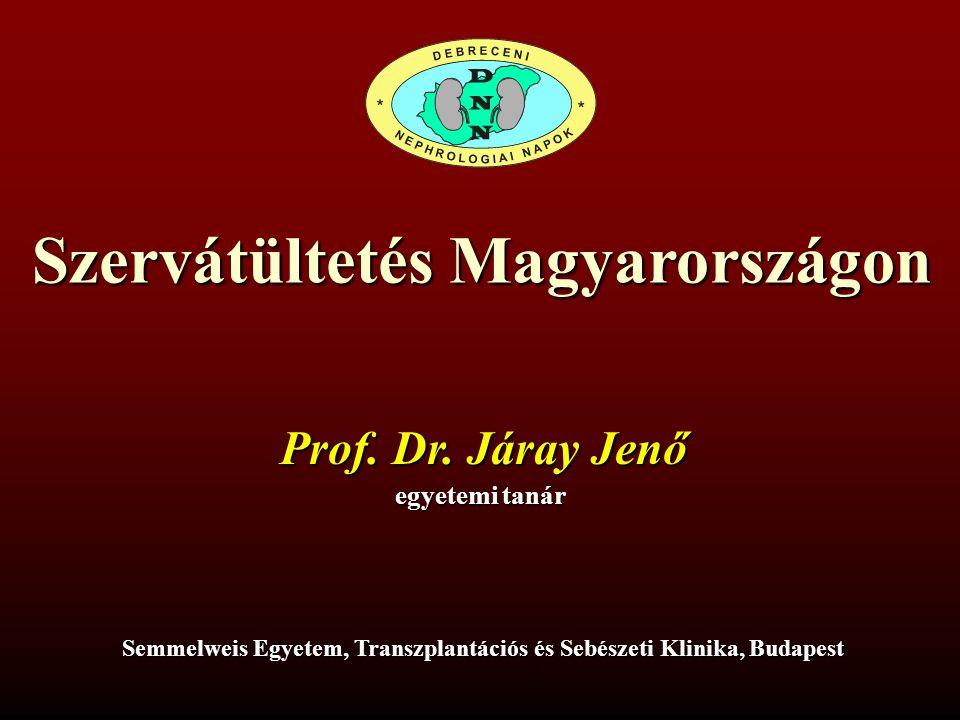 Szervátültetés Magyarországon