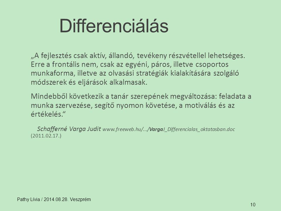 Differenciálás