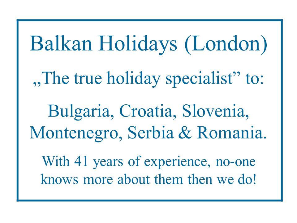 Balkan Holidays (London)