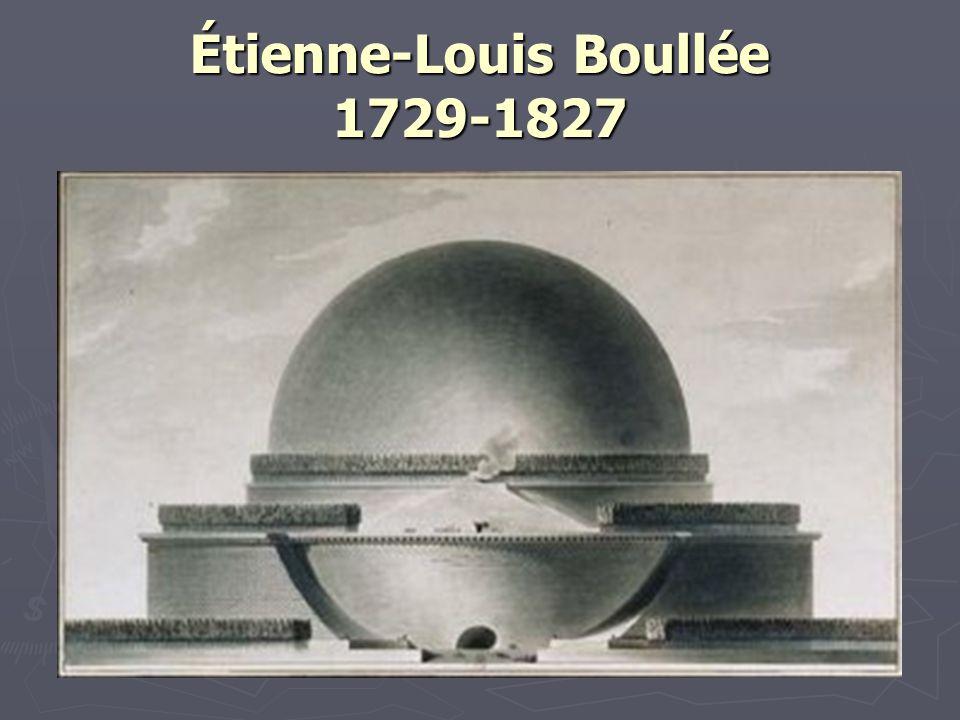 Étienne-Louis Boullée 1729-1827