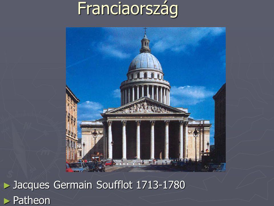 Franciaország Jacques Germain Soufflot 1713-1780 Patheon