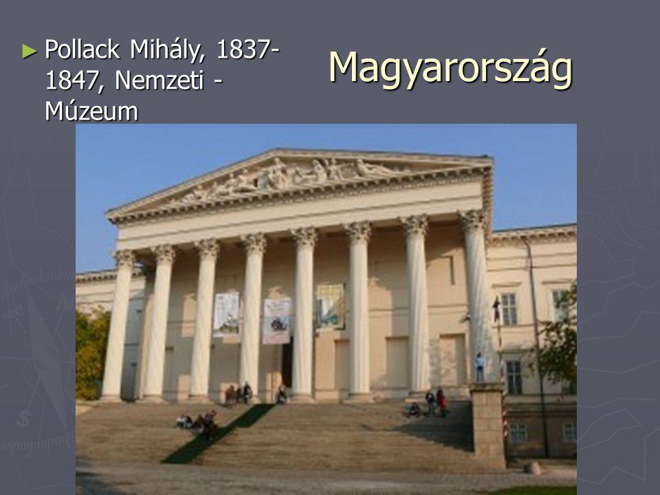Magyarország Pollack Mihály, 1837-1847, Nemzeti -Múzeum