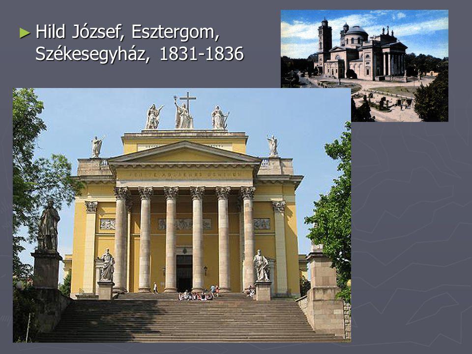 Hild József, Esztergom, Székesegyház, 1831-1836